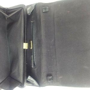 ANDE Bags - ANDE Vintage Black Patent Leather Clutch Handbag